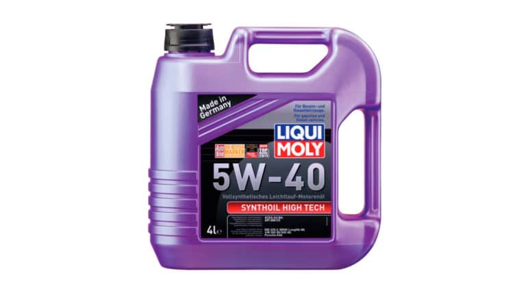 Моторное масло LIQUI MOLY Synthoil High Tech 5W-40.